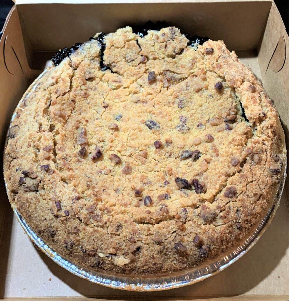 Blueberry Crumb Pie Moms Apple Pie Leesburg VA