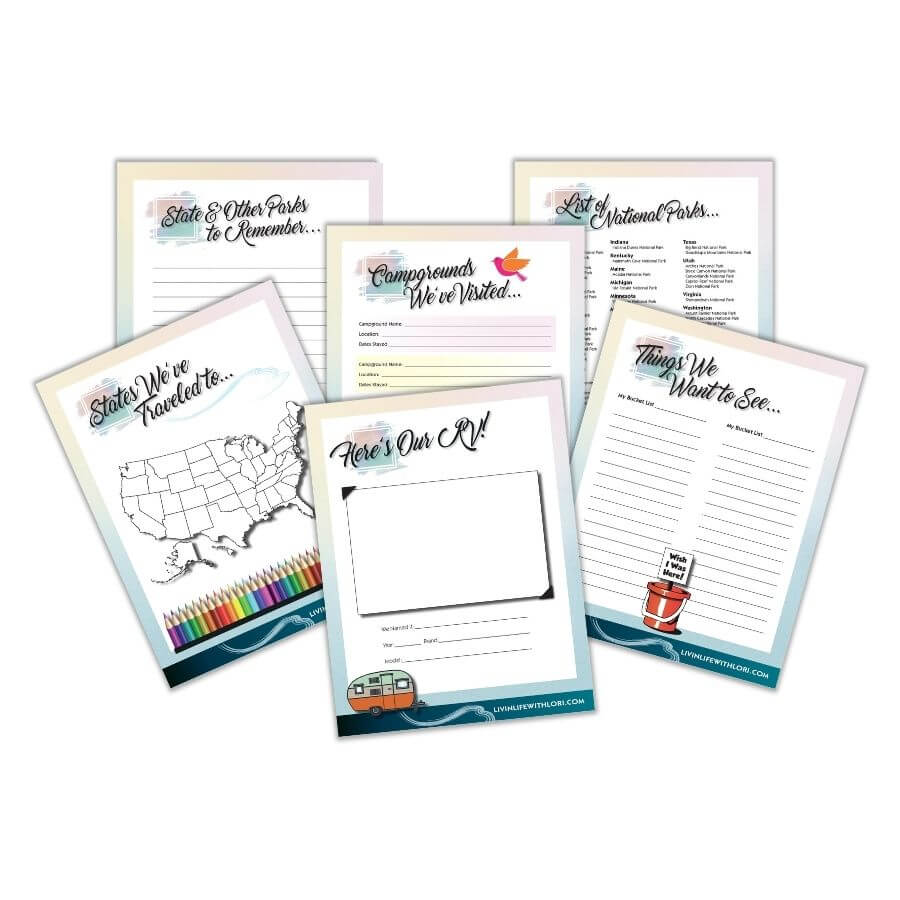 RV Camping Logbook and Journal