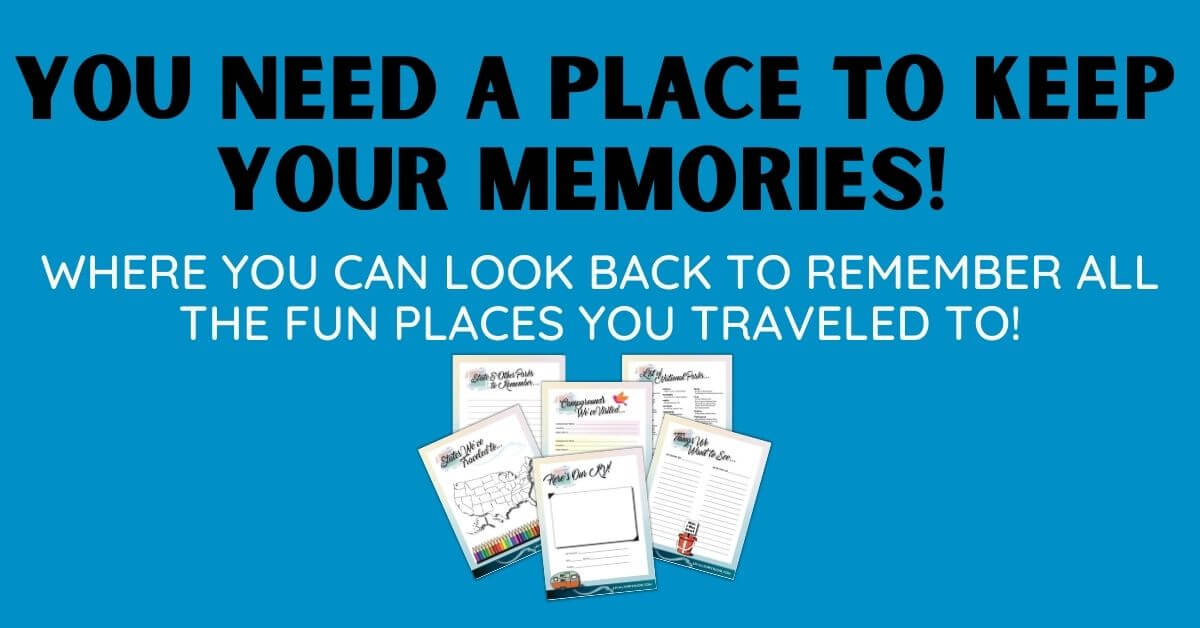 Camping Memories Journal