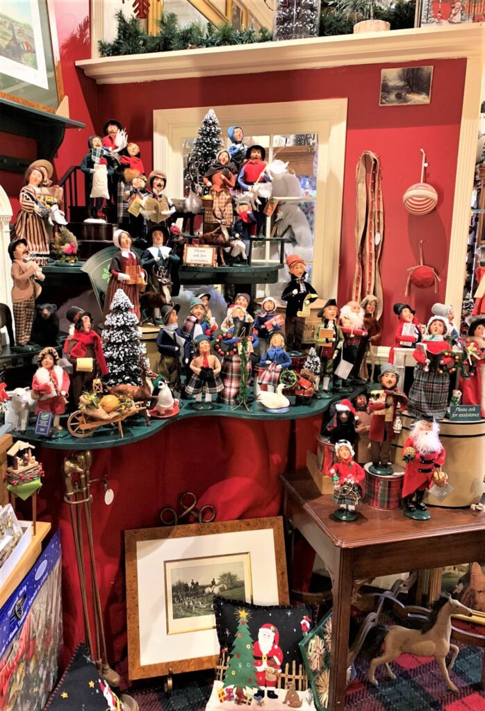 Hand Crafted items at The Christmas Sleigh Shop Middleburg VA