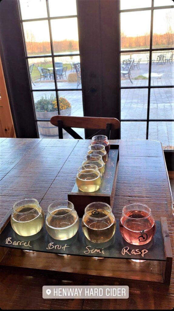 Henway Hard Cider Tasting
