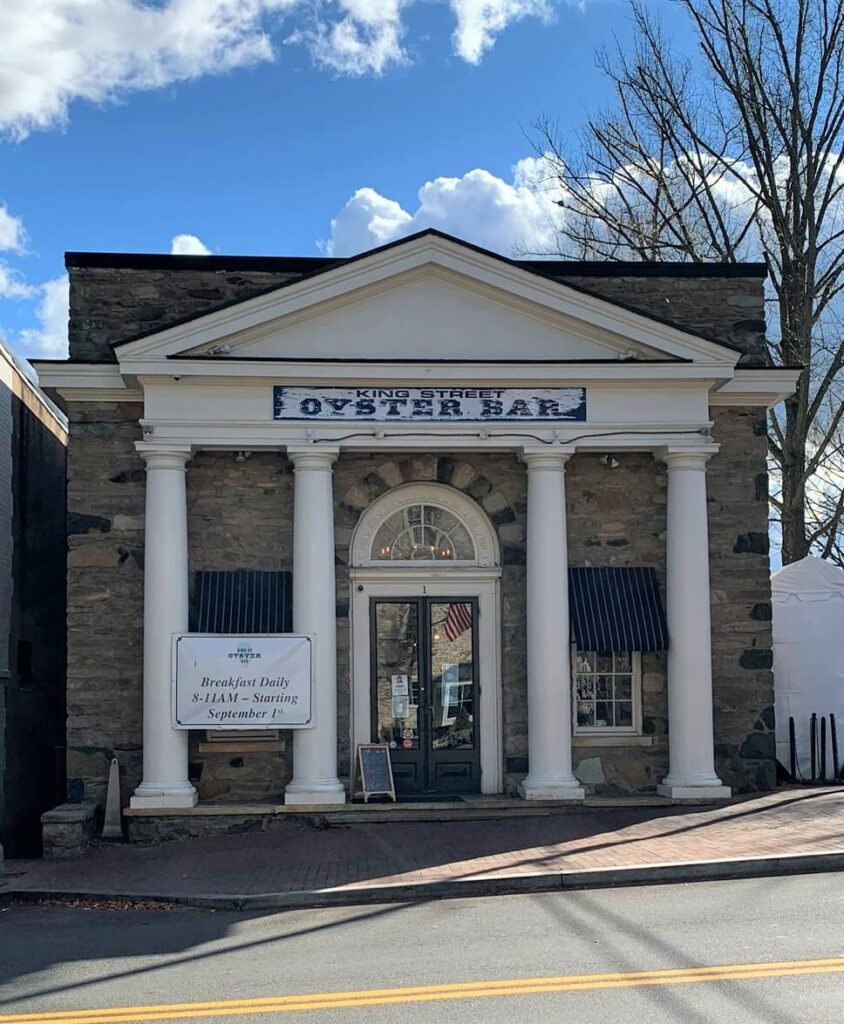 King Street Oyster Bar Middleburg Virginia