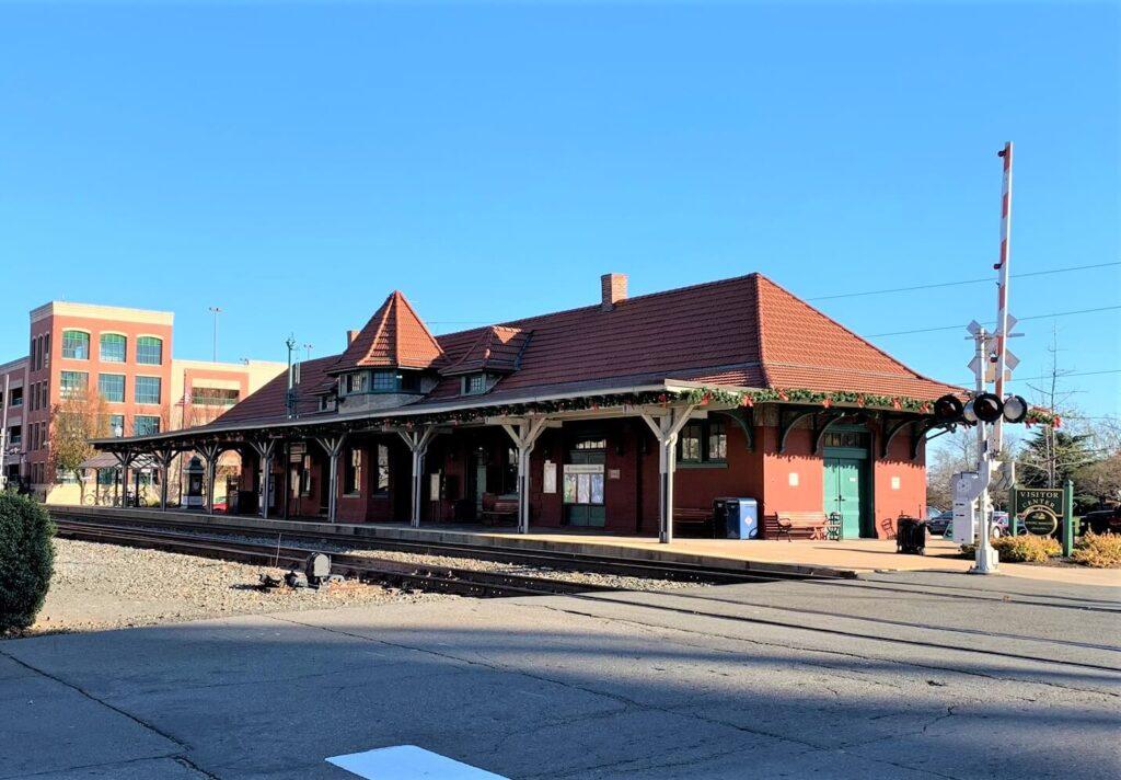 Old Manassas Train Station