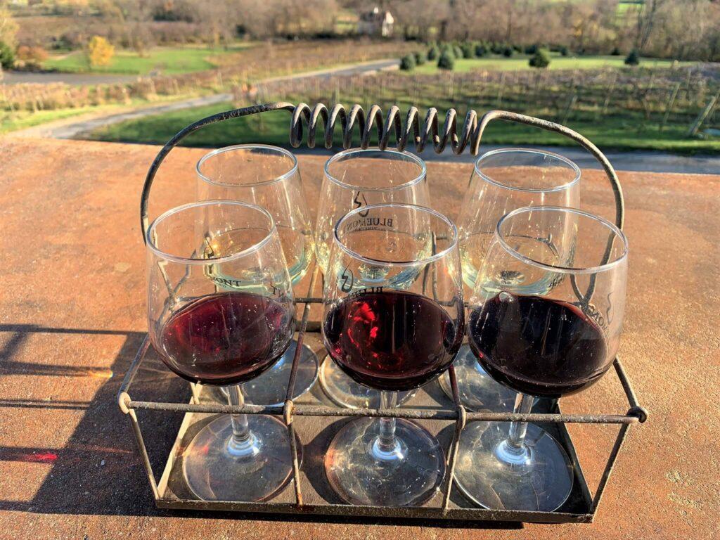 Winter Farmhand Flight Bluemont Vineyard