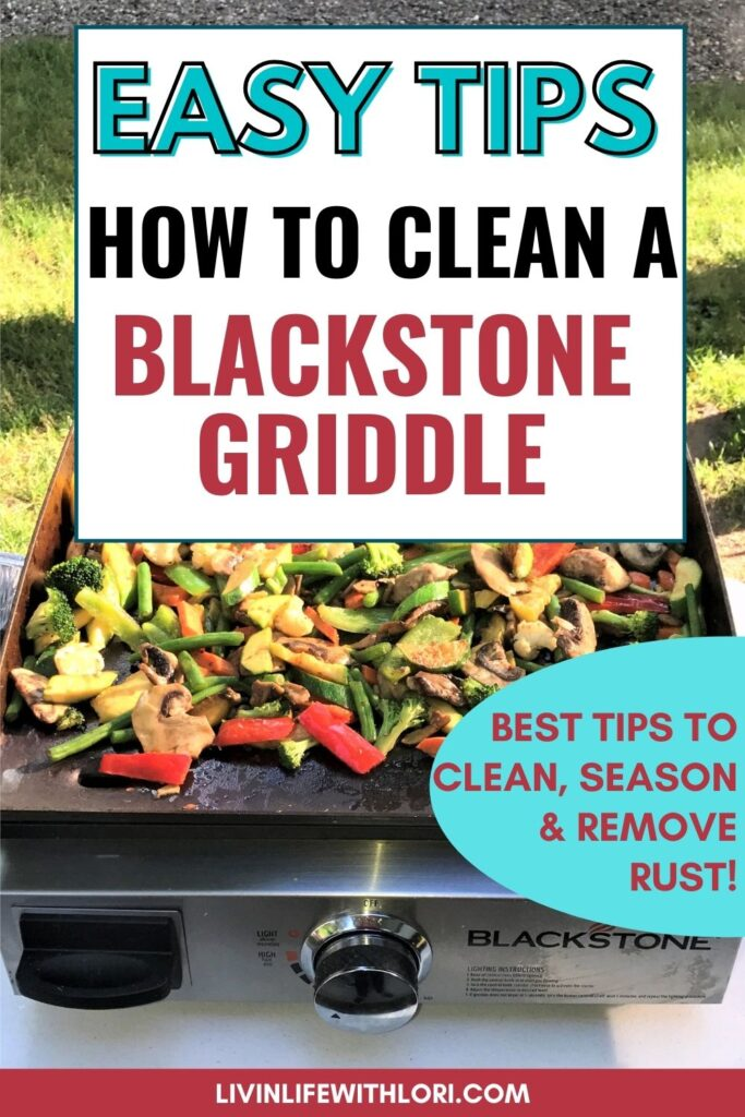blackstone griddle cleaning tips