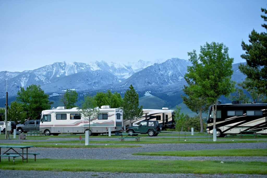 Class A Motorhomes camping