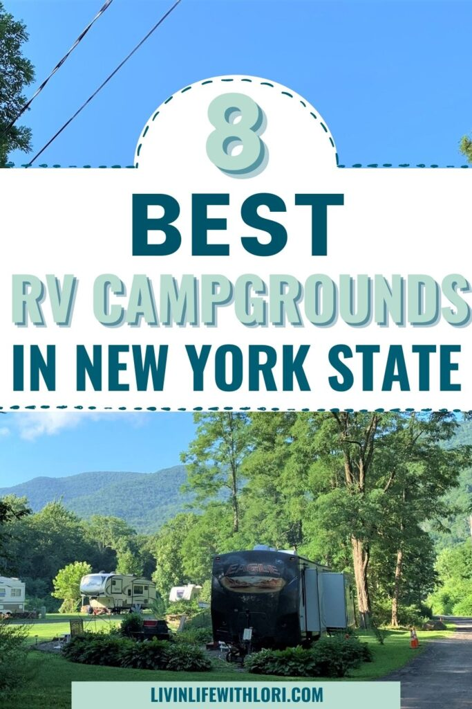 RV campground in New York State