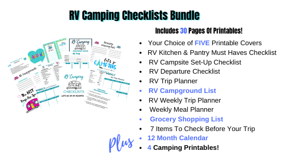 RV Camping Checklist Bundle - What You Get