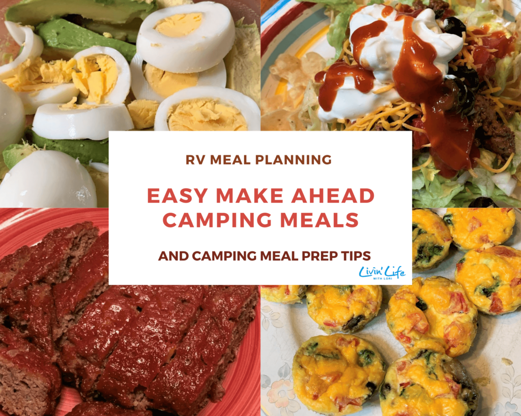 Make Ahead Camping Meals And Meal Pre Tips