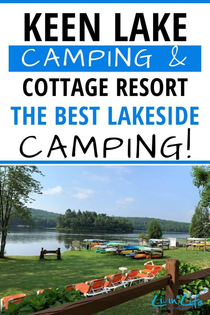 Best lake camping in the Poconos Keen Lake