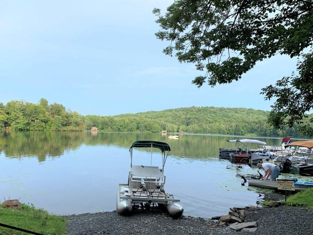 boat ramp to keen lake