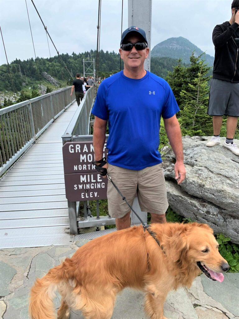 Dogs are Welcome at the Swinging Bridge