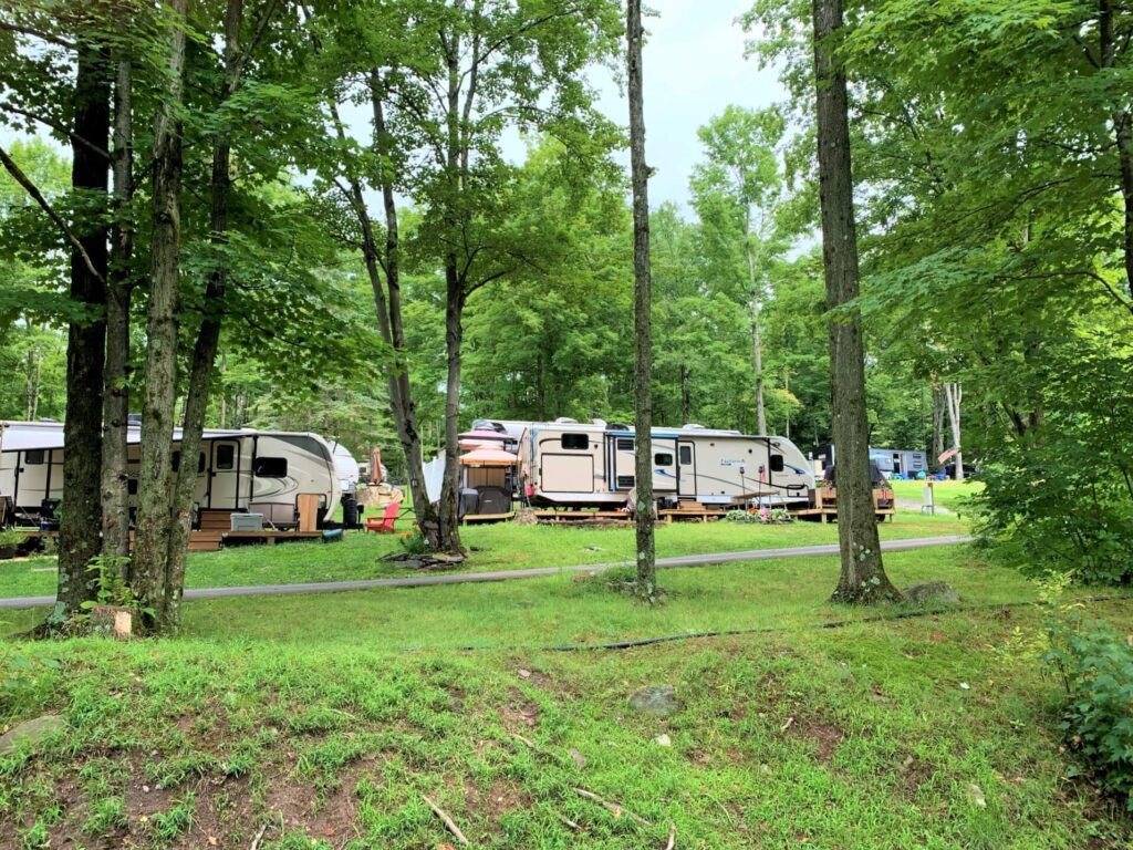 RV Campground at Keen Lake