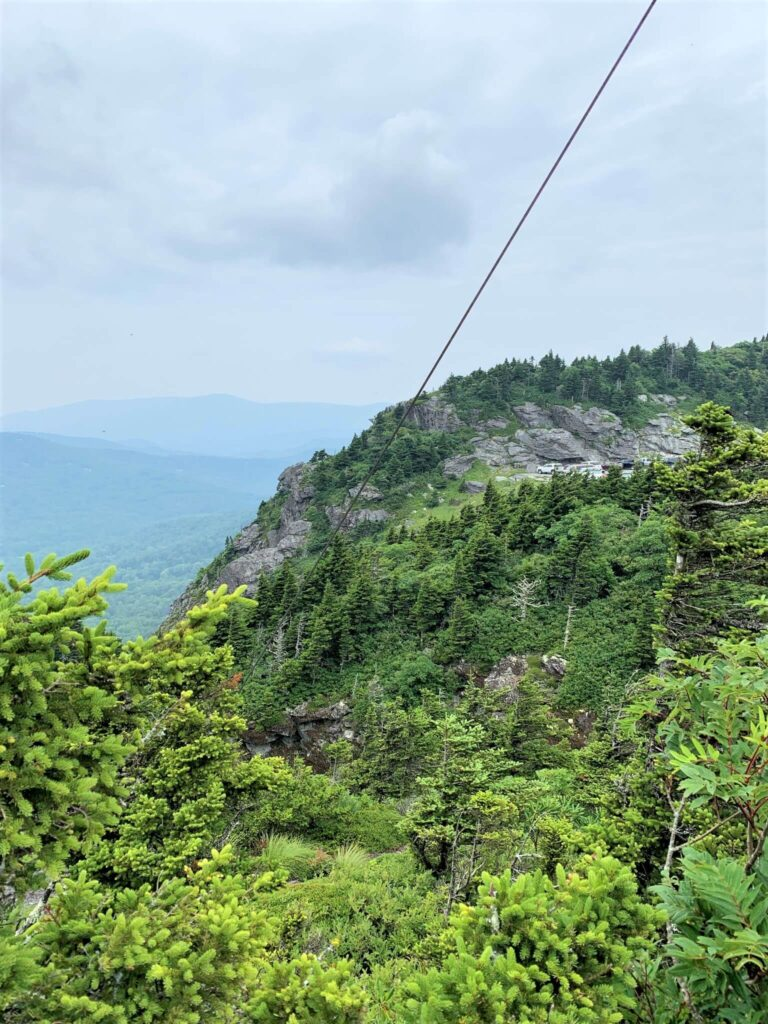 Views from the top of Grandfather Mountain
