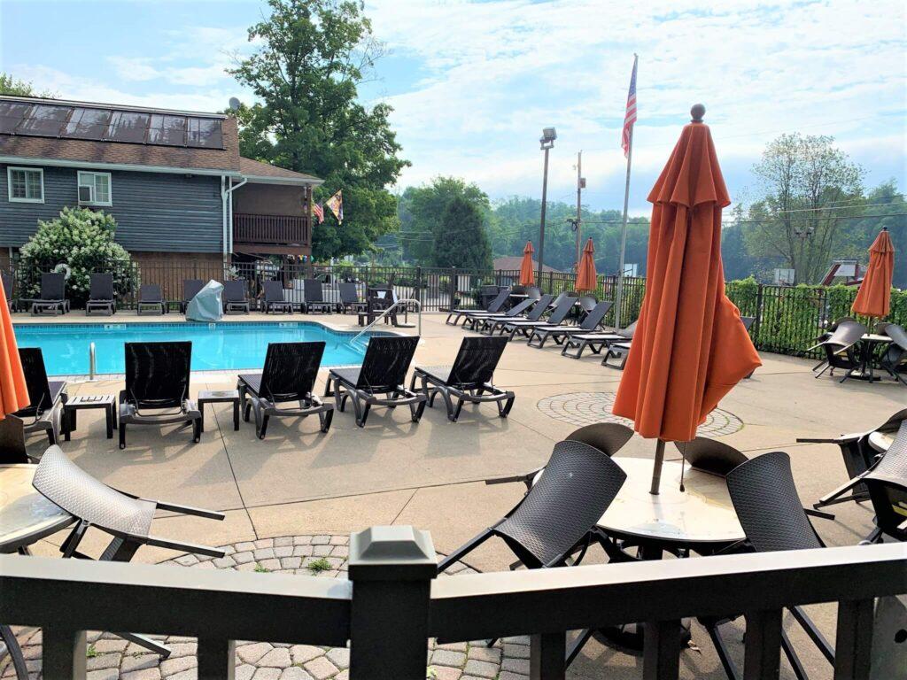 pool at keen lake