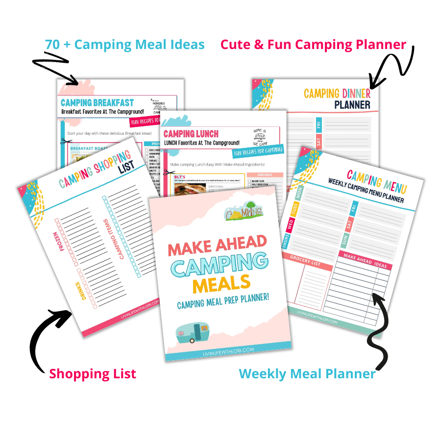 Make Ahead Camping Meal Planner
