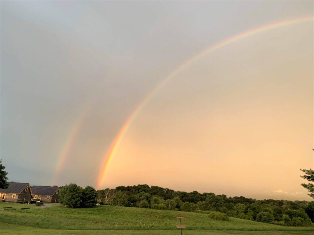 Double Rainbow in Luray VA