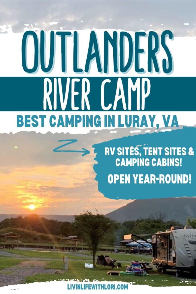 Outlanders River Camp Luray VA
