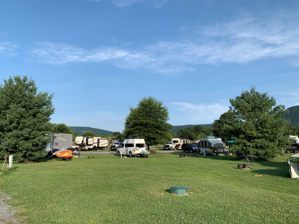 RV camping Luray VA