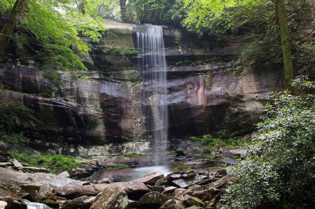 Rainbow Falls Great Smoky Mountain National Park