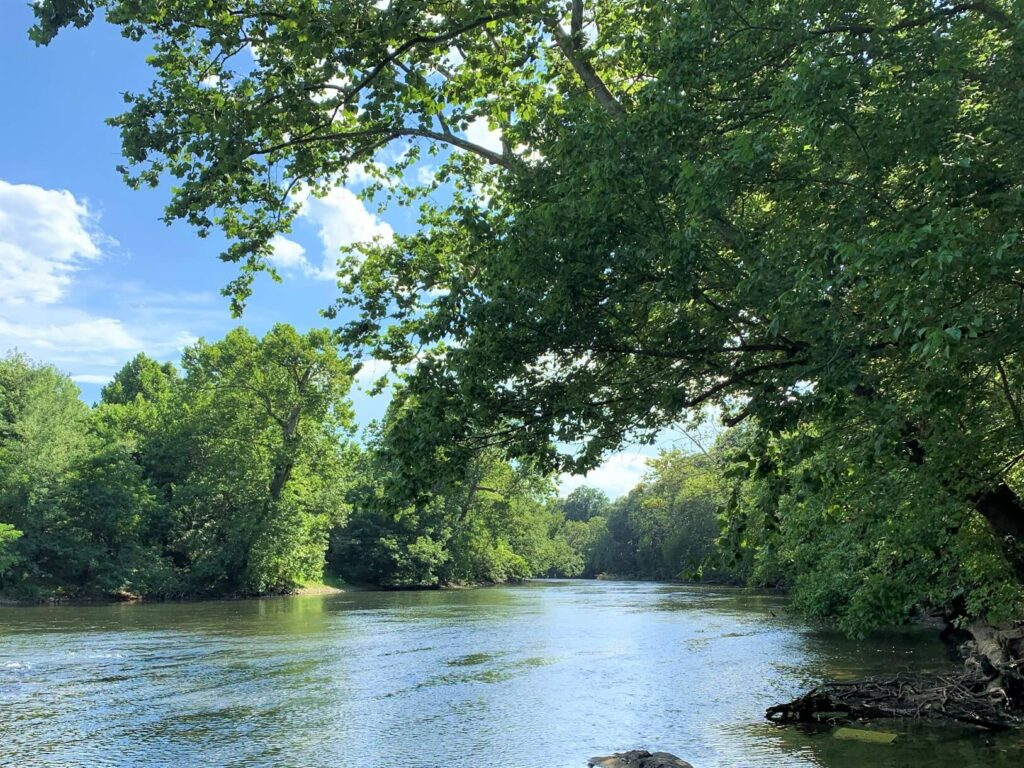 Relax by the Shenandoah River at Outlanders River Camp