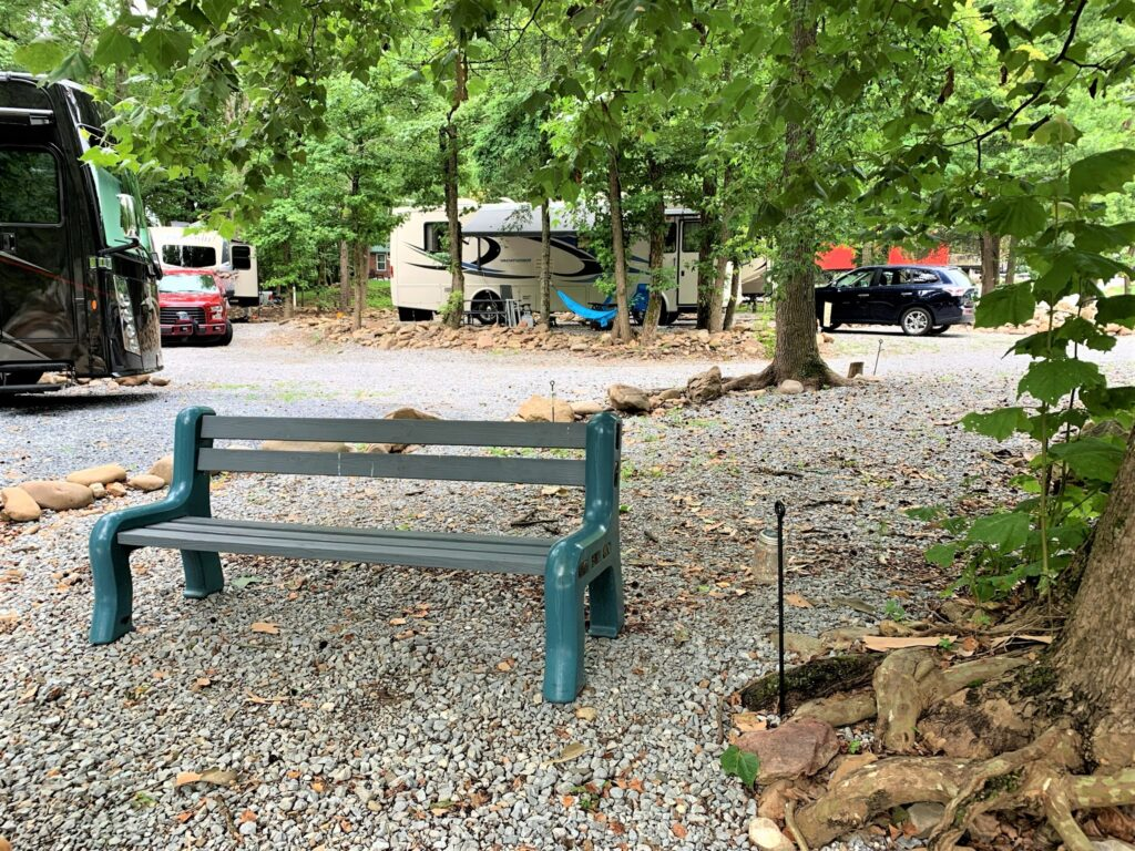 Sit by the Nolichucky River Tennessee