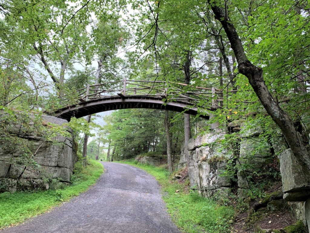 Footbridge at Minnewaska State Park Preserve