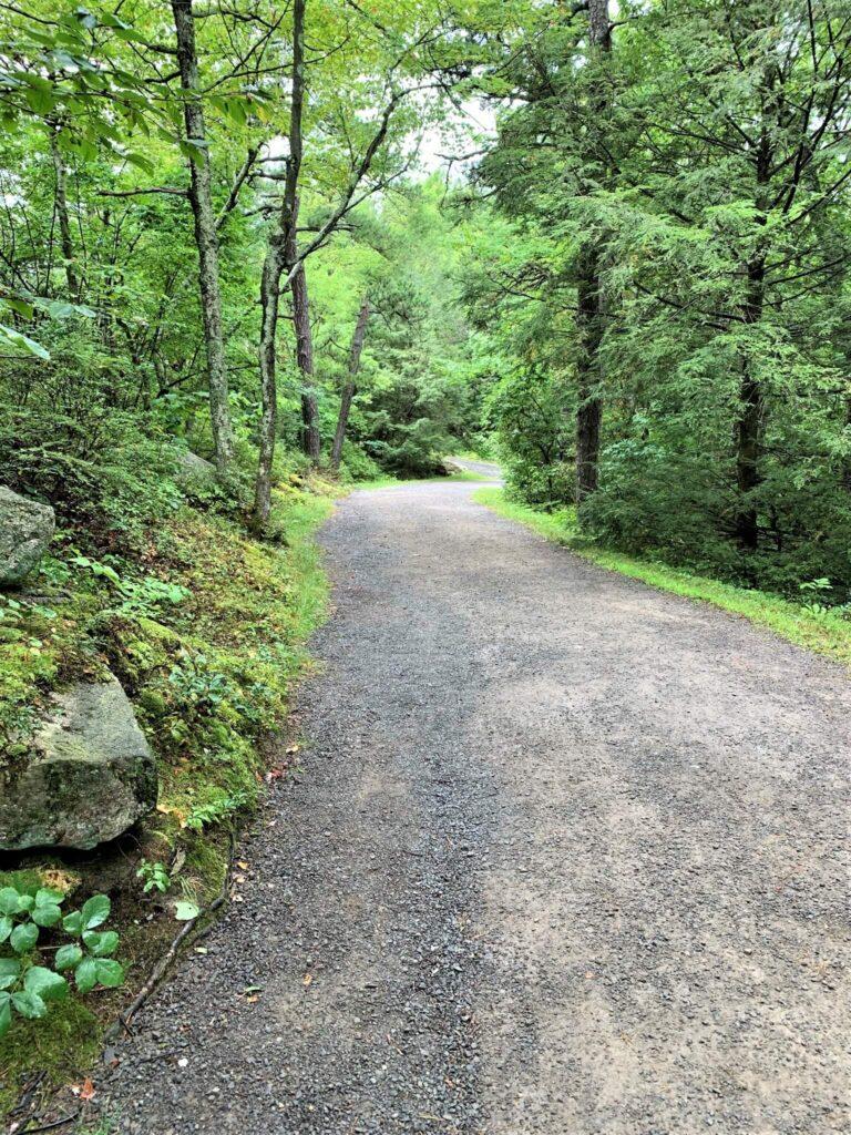 Carriage Road Trail Lake Minnewaska