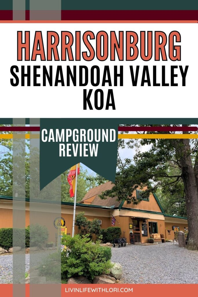 Camping In The Shenandoah Valley