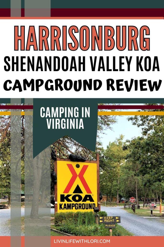 Harrisonburg Shenandoah Valley KOA