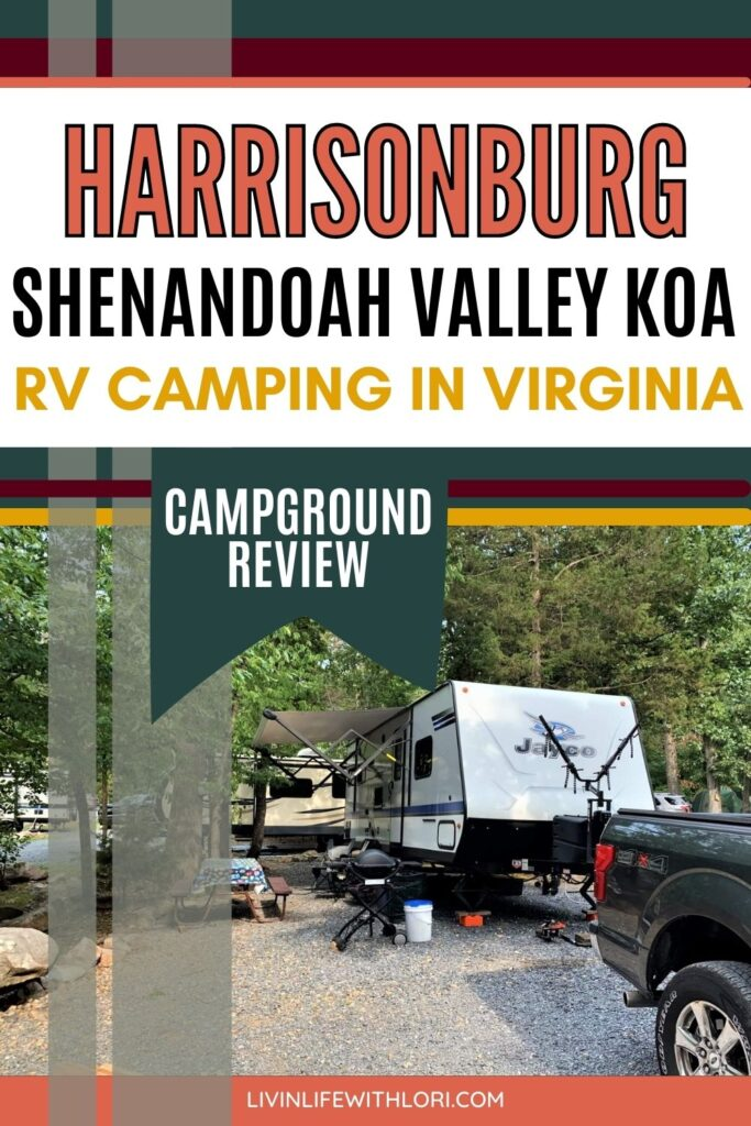 Shenandoah Valley Campgrounds
