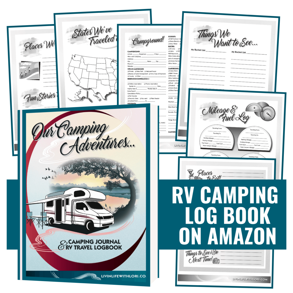 Camping Journal and RV Log Book