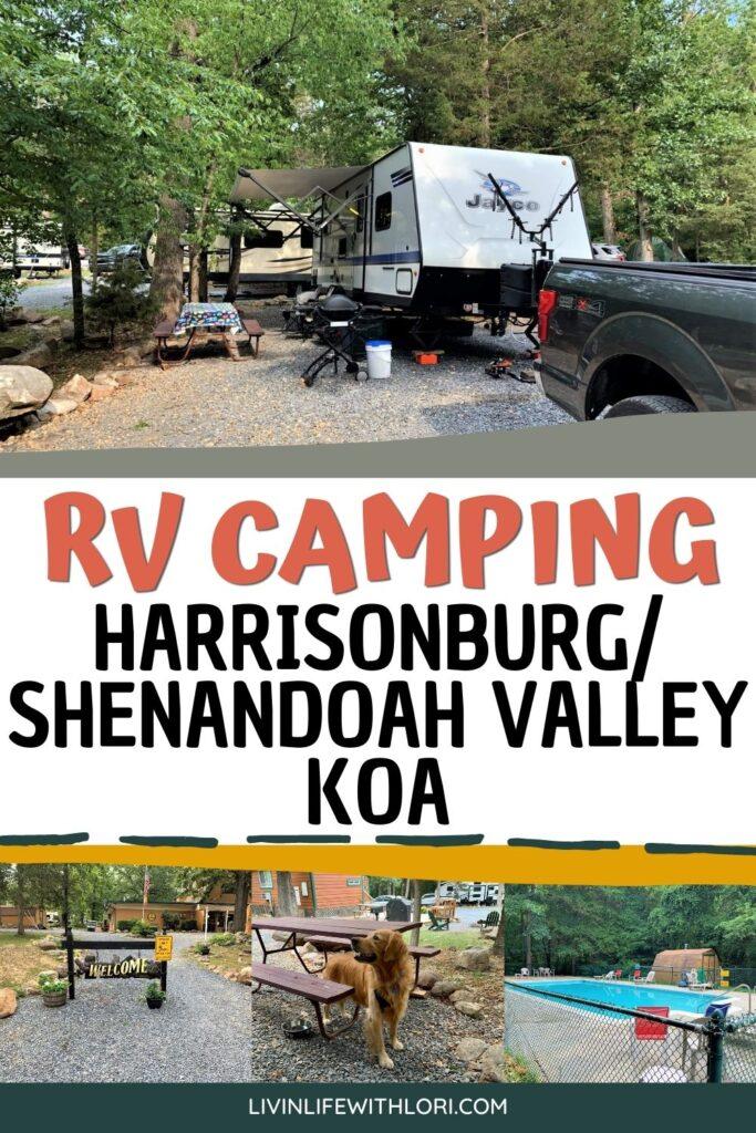 Harrisonburg Shenandoah Valley KOA Campground