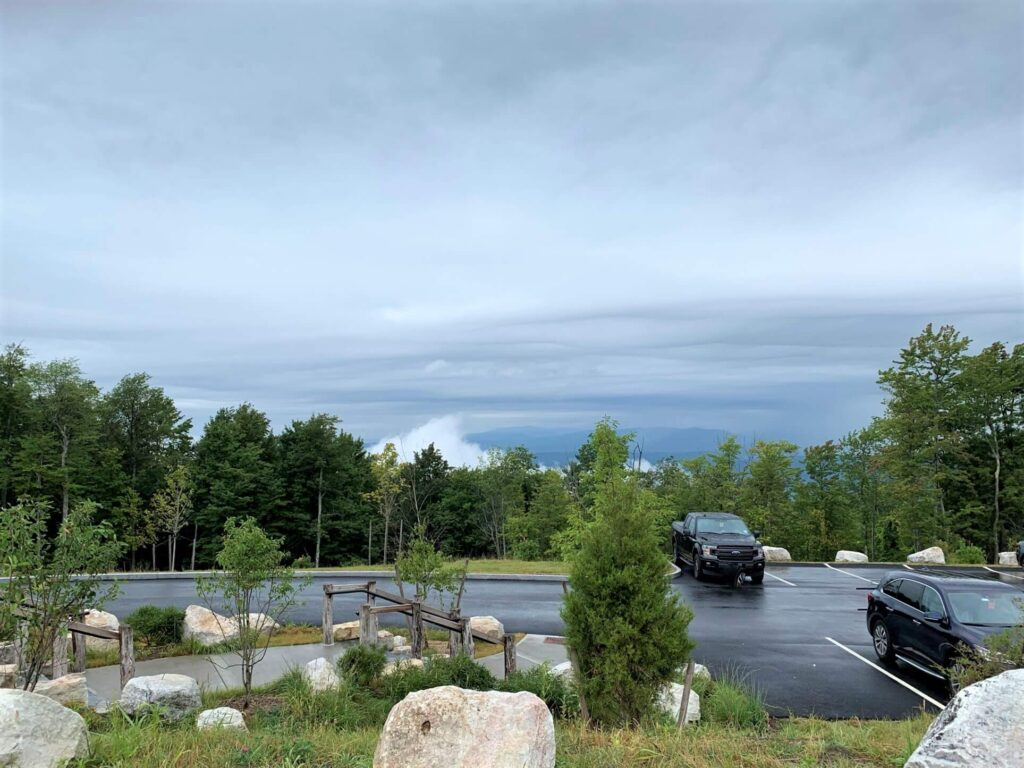 View from Minnewaska State Park Preserve Visitor Center